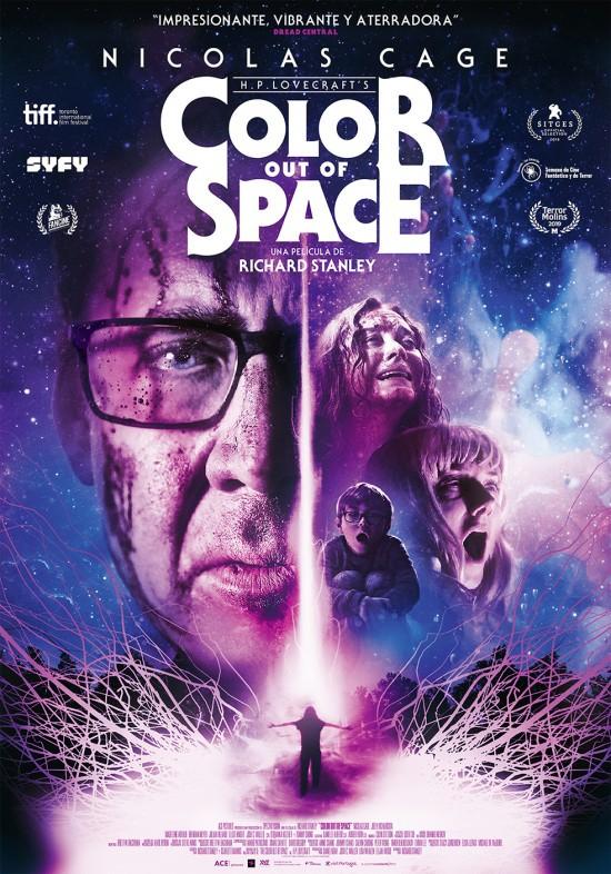 Cartel de Color Out of Space