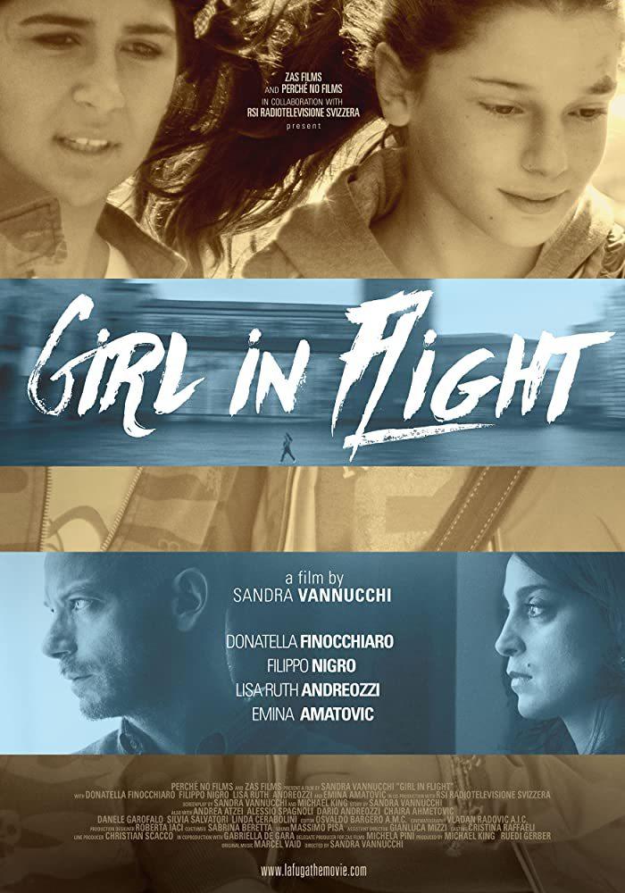 Cartel de La fuga. Girl in Flight
