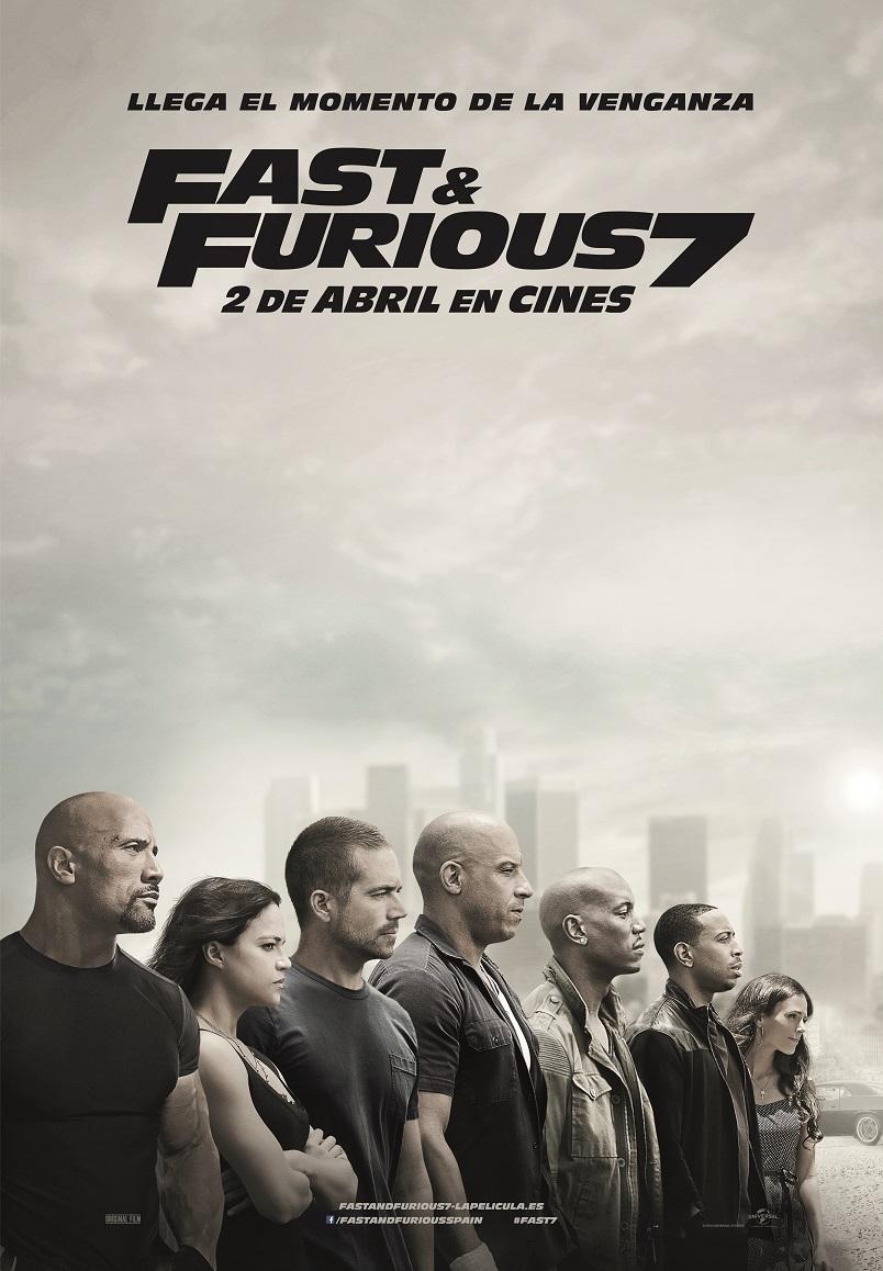 Cartel de Fast & Furious 7 (2015)