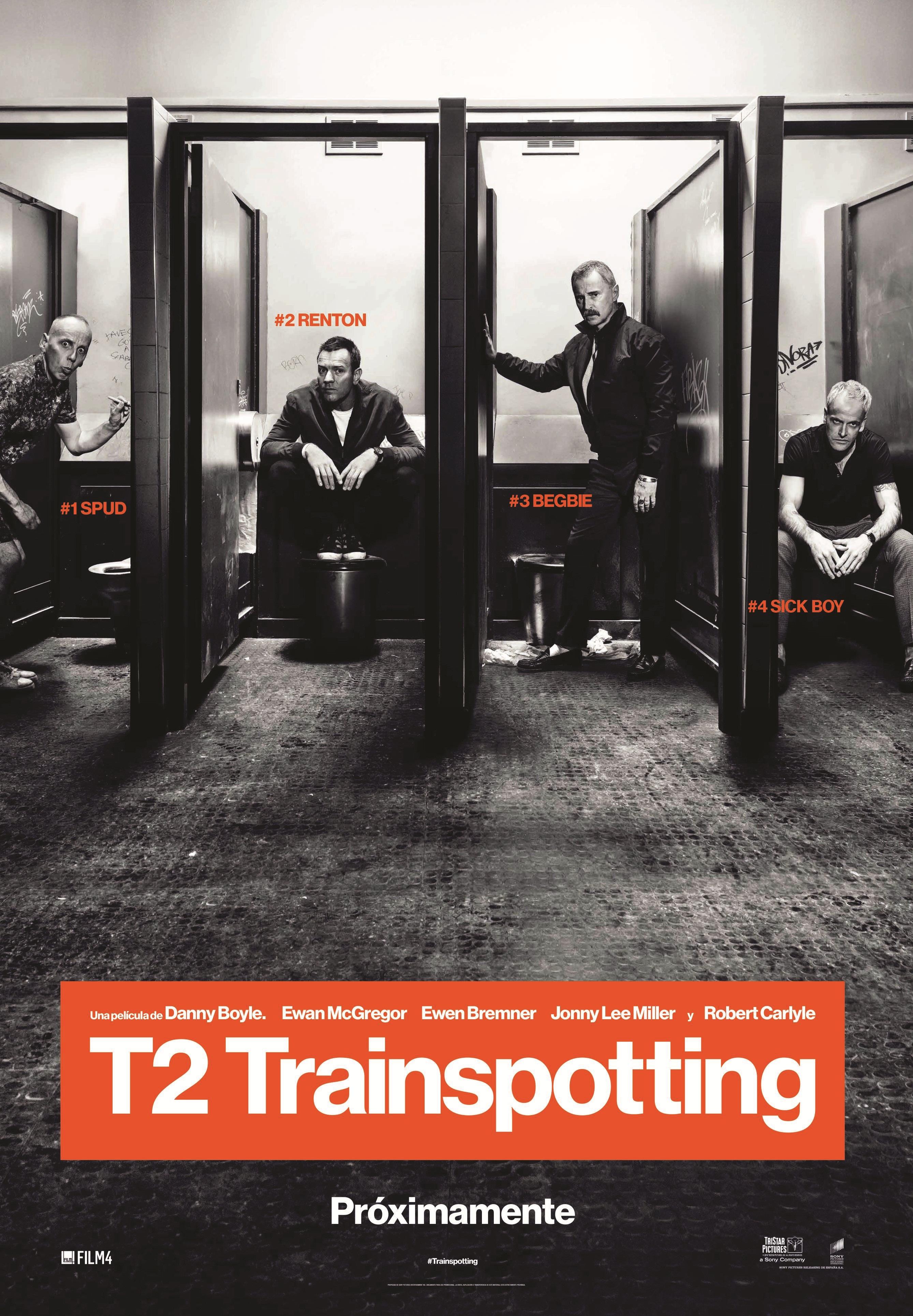 Cartel de T2: Trainspotting