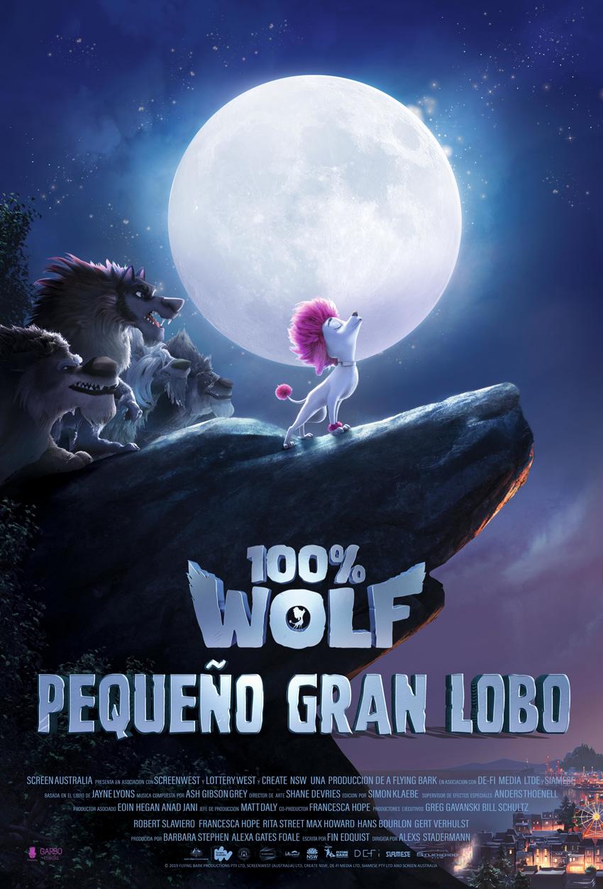 Cartel de 100% Wolf: Pequeño Gran Lobo