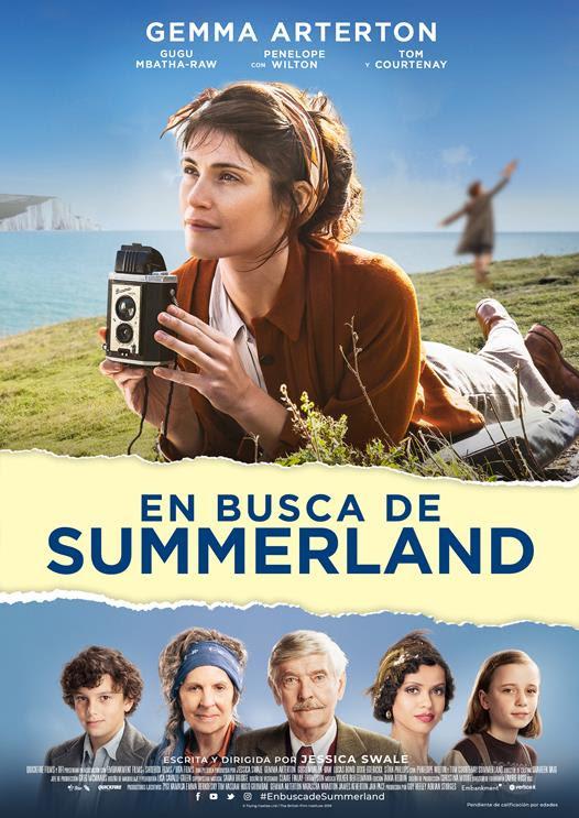 Cartel de En busca de Summerland