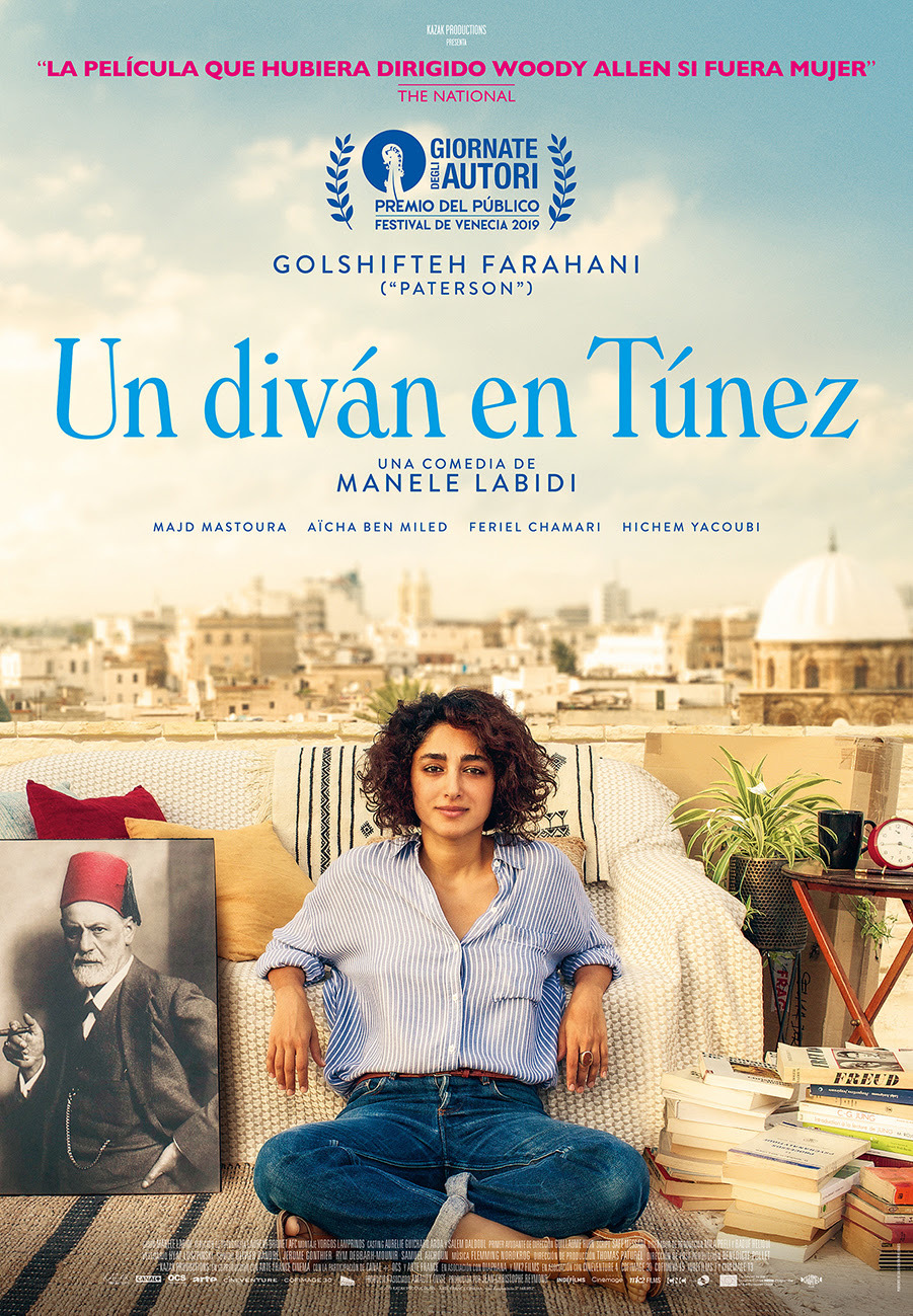 Cartel de Un diván en Túnez