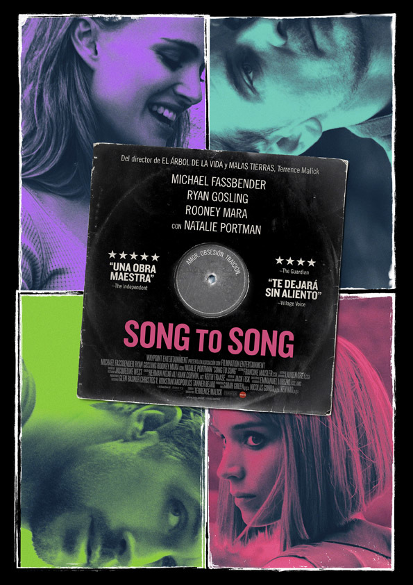 Cartel de Song to Song