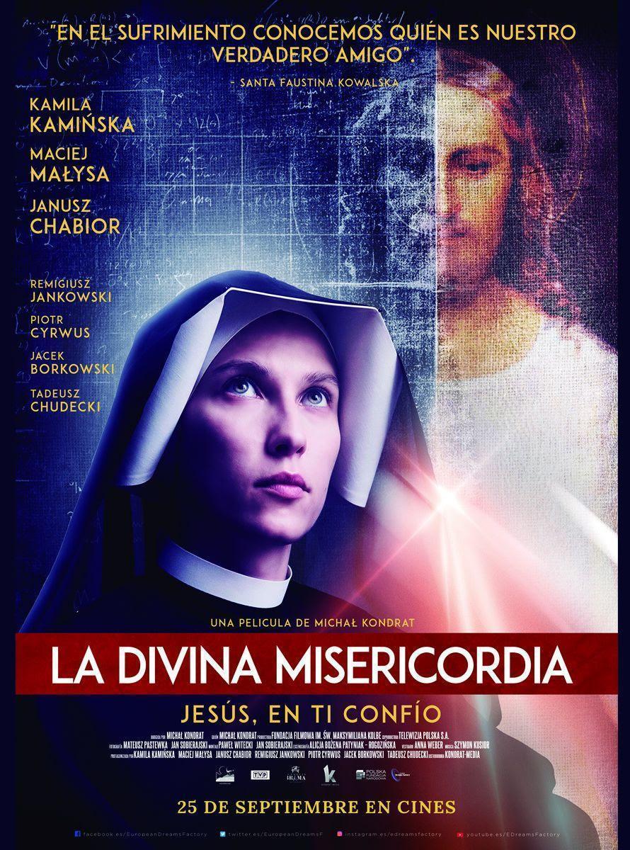 Cartel de La divina misericordia