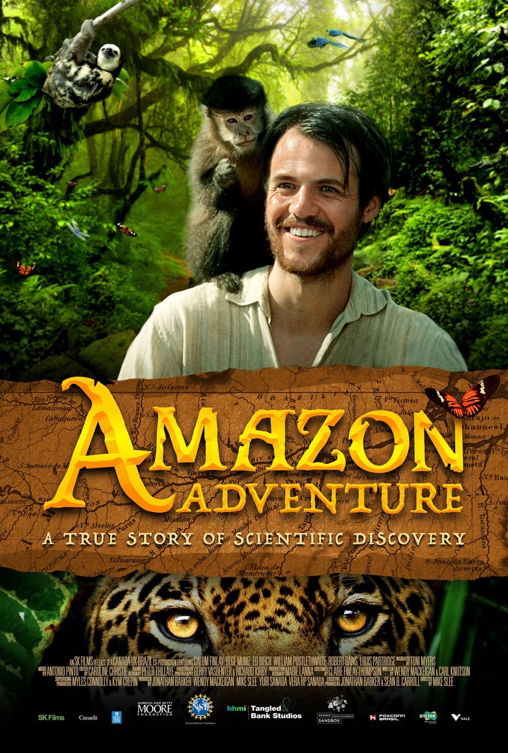 Cartel de Amazon Adventure