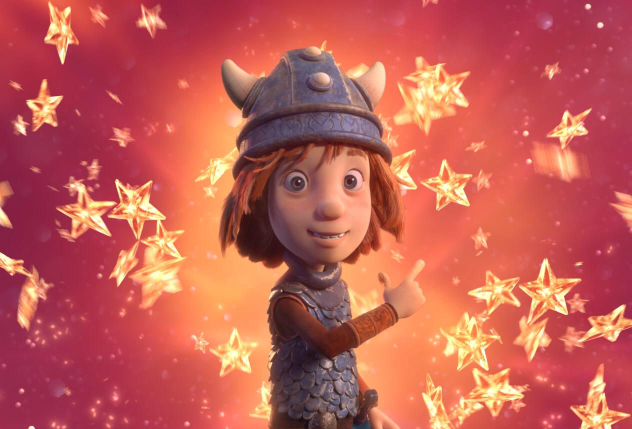 Vicky el Vikingo y la espada mágica