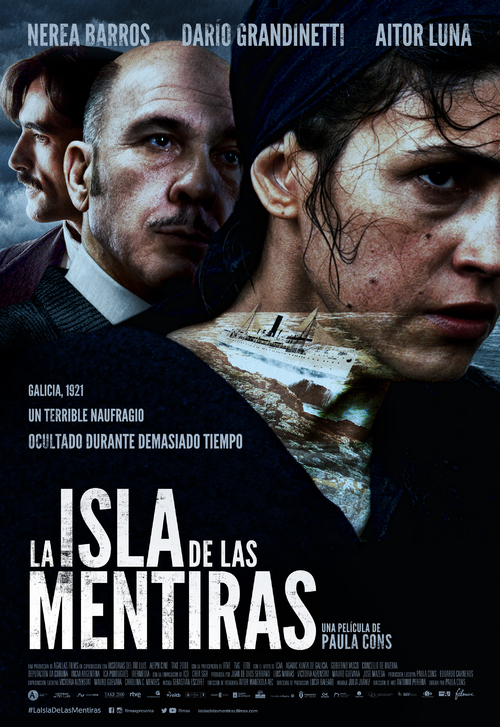 Cartel de La isla de las mentiras