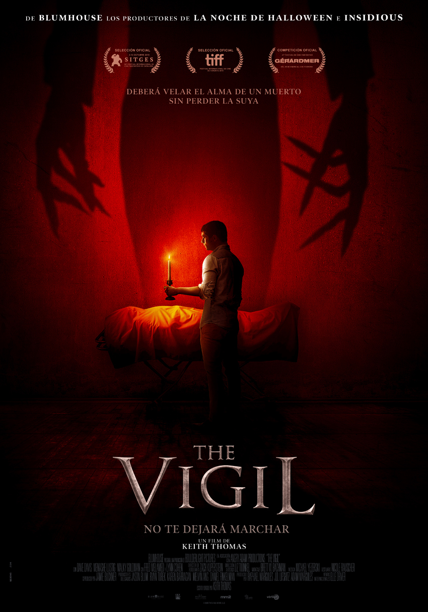 Cartel de The Vigil
