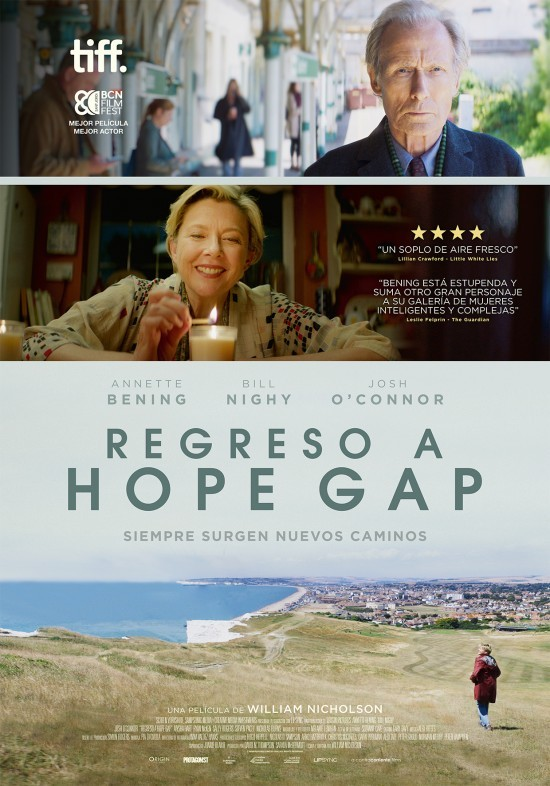 Cartel de Regreso a Hope Gap