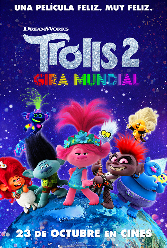 Cartel de Trolls 2: Gira mundial