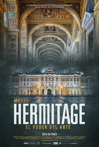 Cartel de Museo Hermitage: El poder del arte
