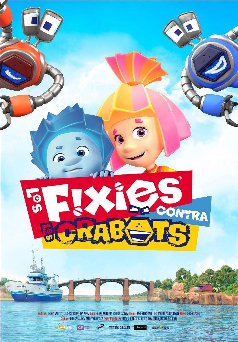 Cartel de Los Fixies contra los Crabots