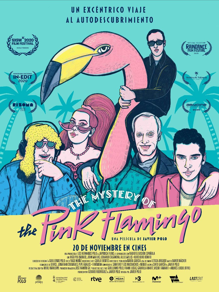 Cartel de The Mystery of the Pink Flamingo
