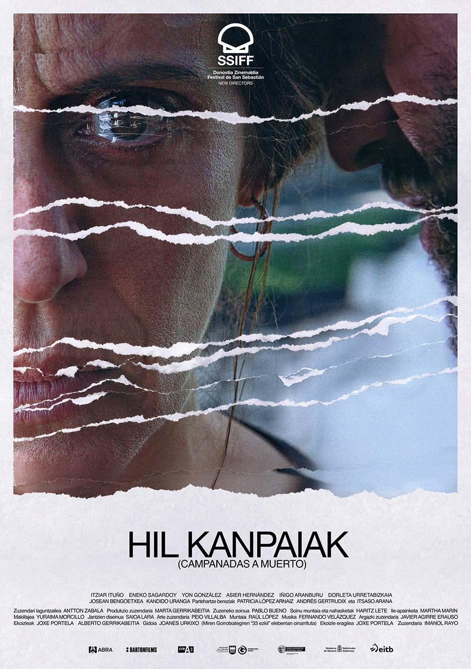 Cartel de Hil Kanpaiak (Campanadas a muerto)