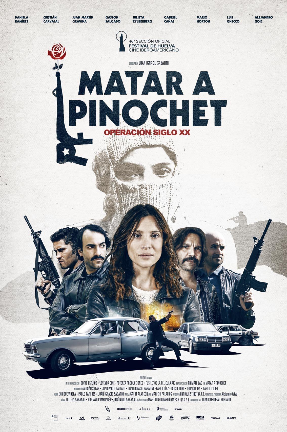 Cartel de Matar a Pinochet