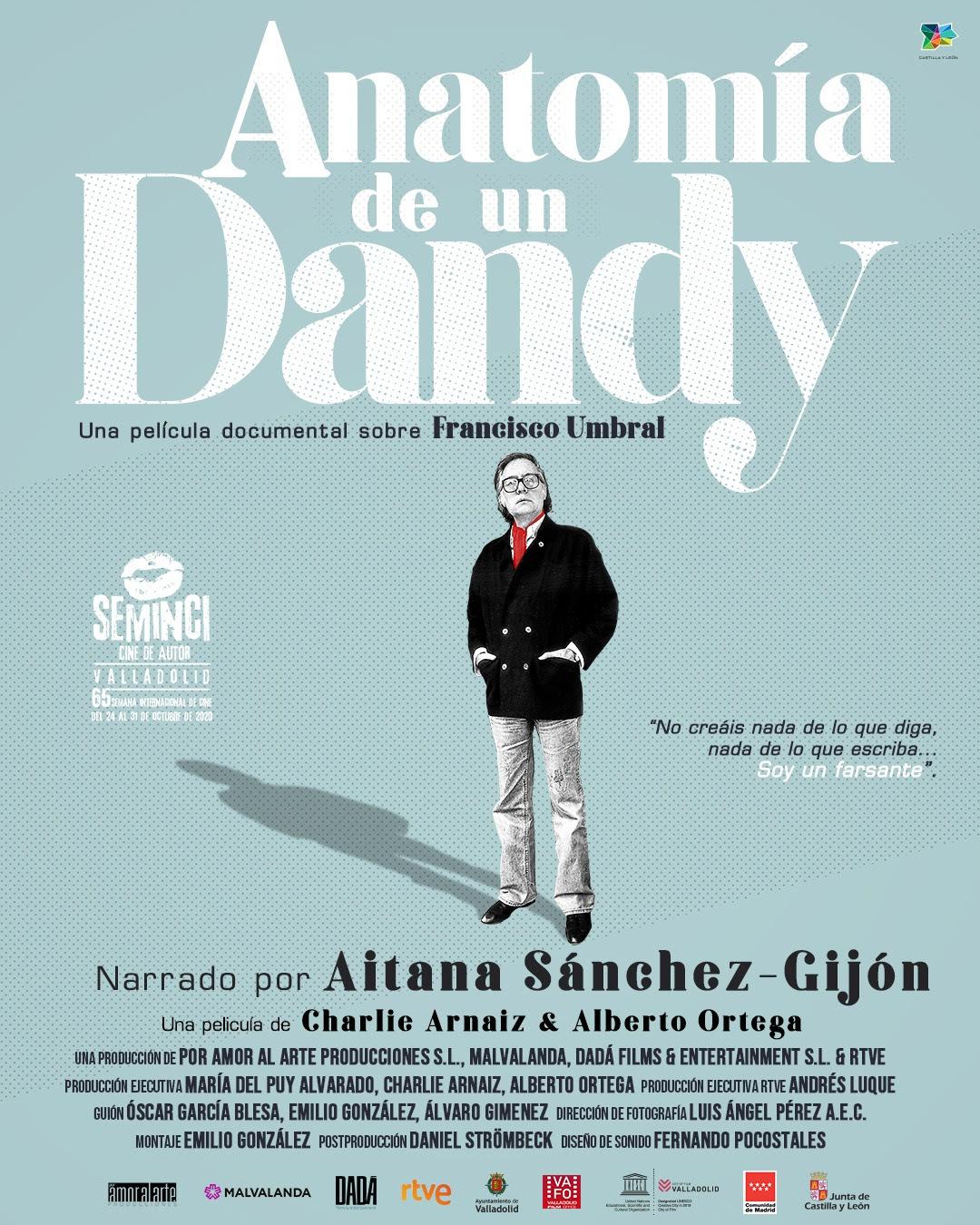 Cartel de Anatomía de un Dandy