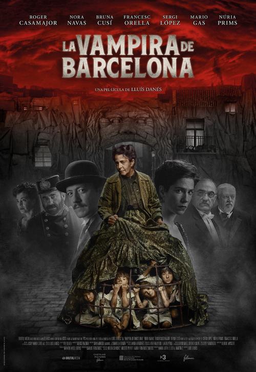 Cartel de La vampira de Barcelona