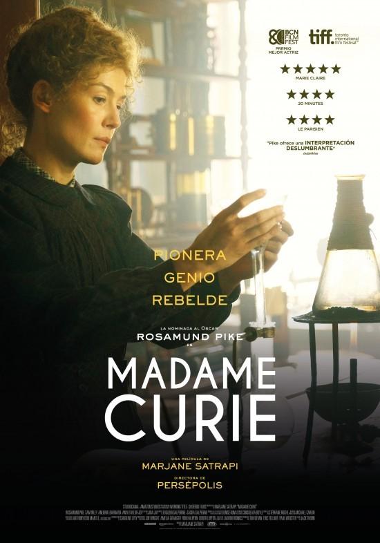 Cartel de Madame Curie