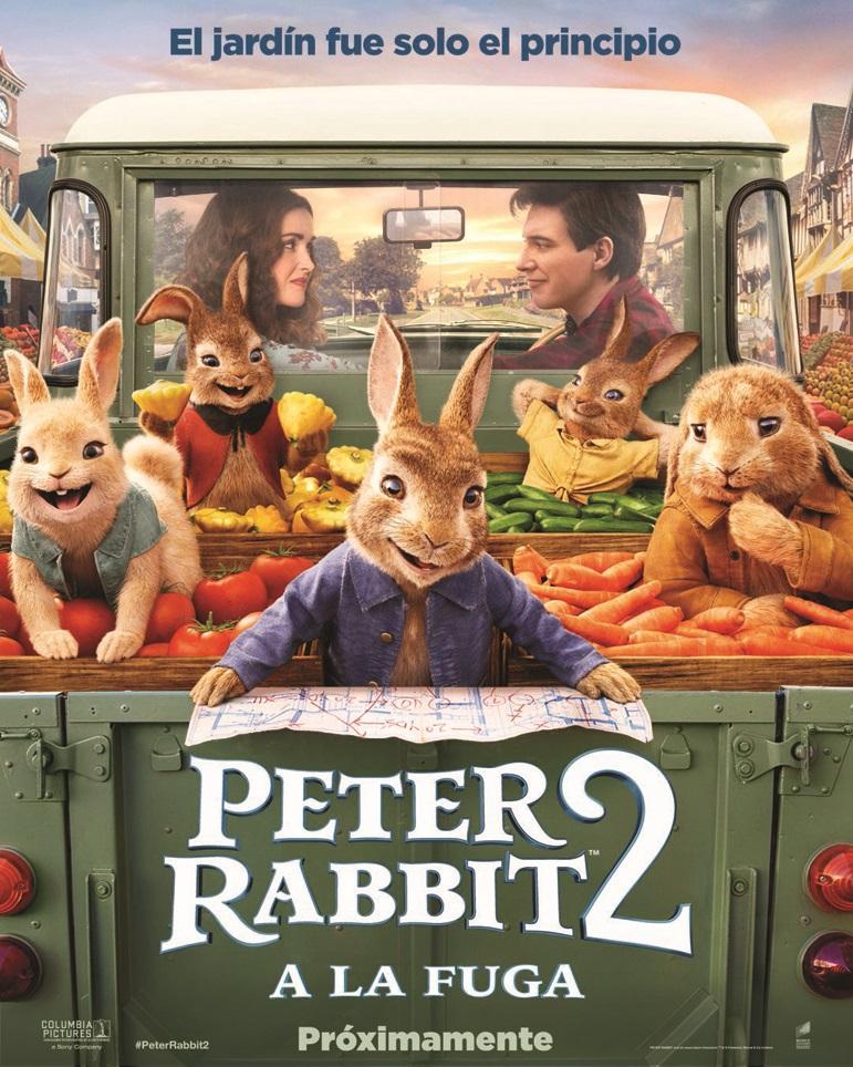 Cartel de Peter Rabbit 2: A la fuga