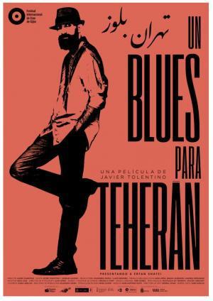 Cartel de Un blues para Teherán