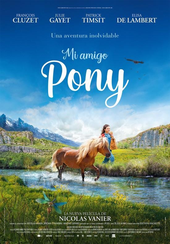 Cartel de Mi amigo Pony