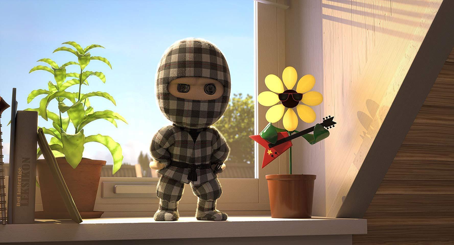 Ninja a cuadros