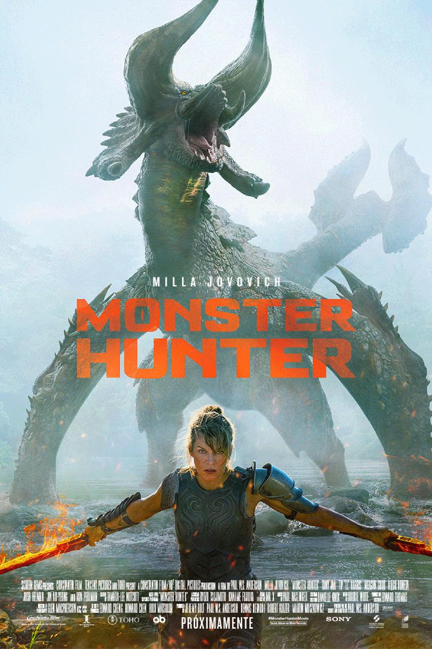 Cartel de Monster Hunter