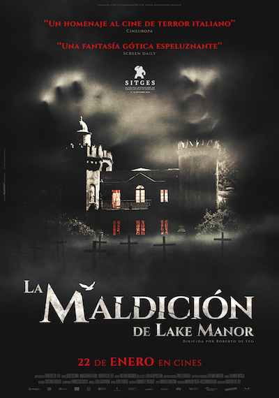 Cartel de La maldición de Lake Manor