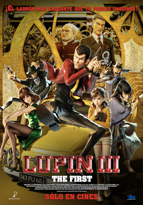 Cartel de Lupin III: The First
