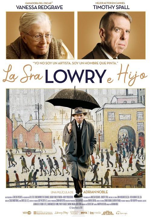 Cartel de La Sra. Lowry e hijo