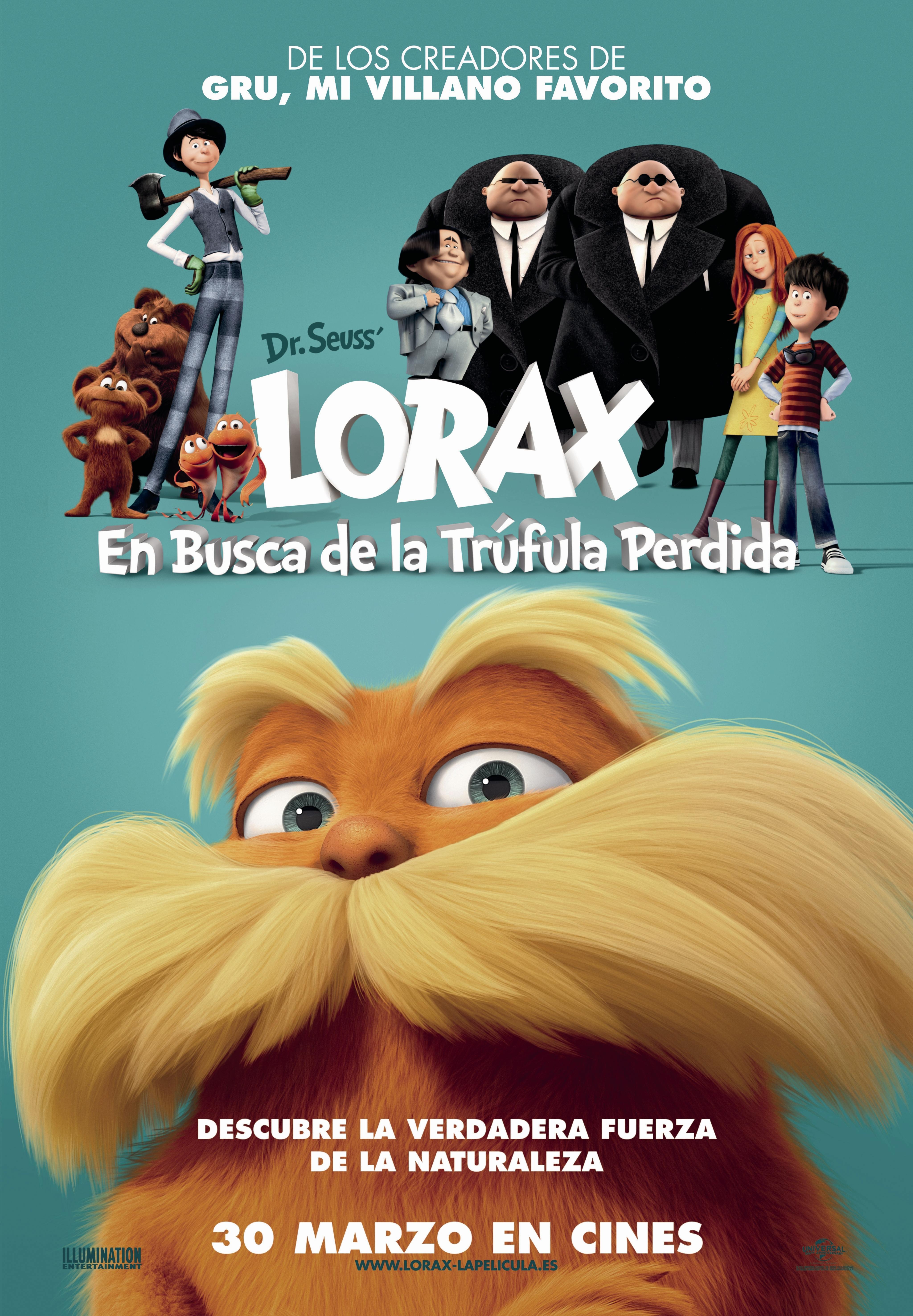 Cartel de Lorax: En busca de la trúfula perdida