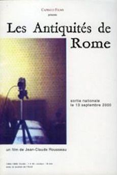 Cartel de Les antiquités de Rome