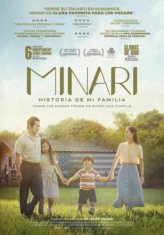 Cartel de Minari. Historia de mi familia