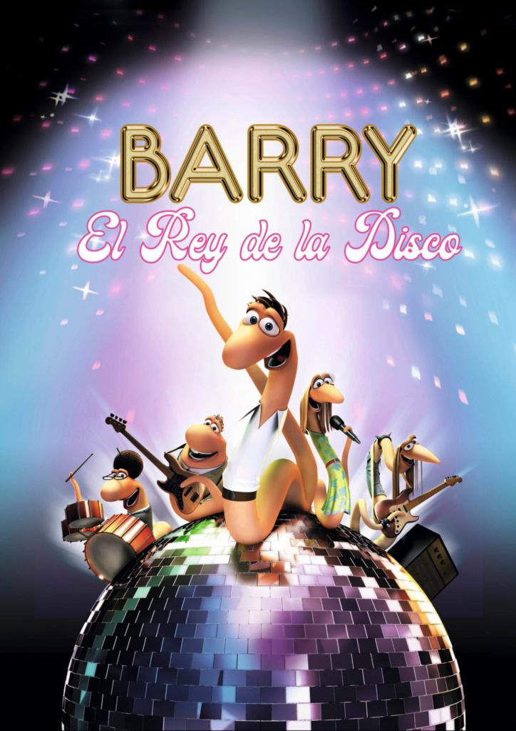 Cartel de Barry, el rey de la disco