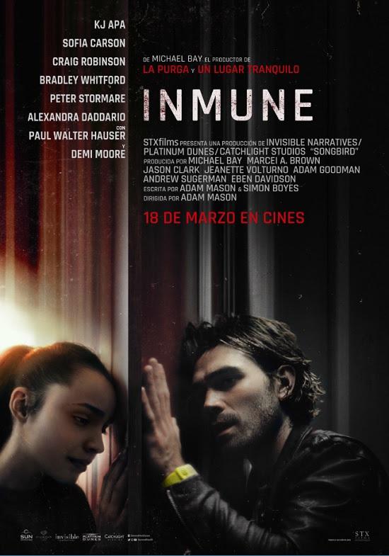 Cartel de Inmune
