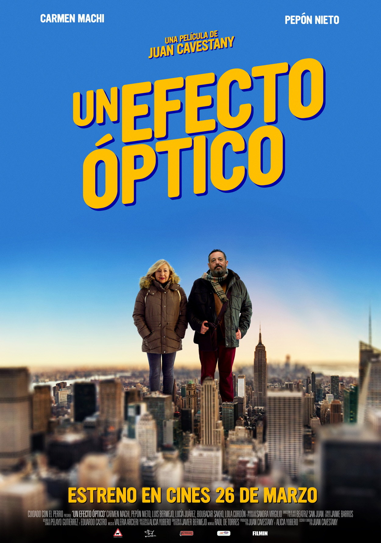 Cartel de Un efecto óptico