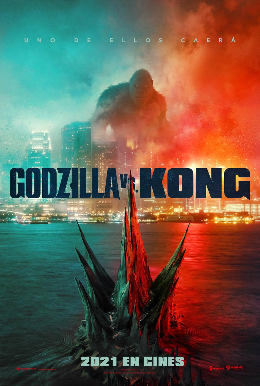 Cartel de Godzilla vs. Kong