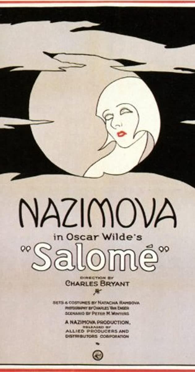 Cartel de Salomé (1922)