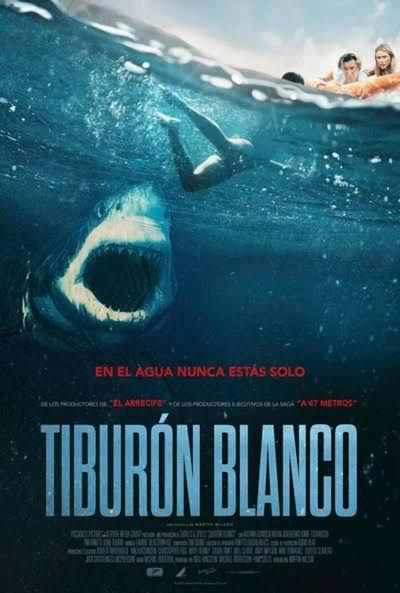 Cartel de Tiburón blanco