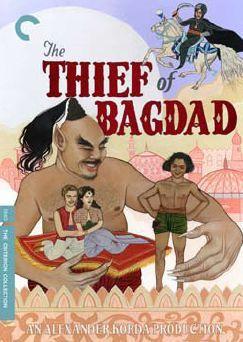 Cartel de El ladrón de Bagdad (1940)
