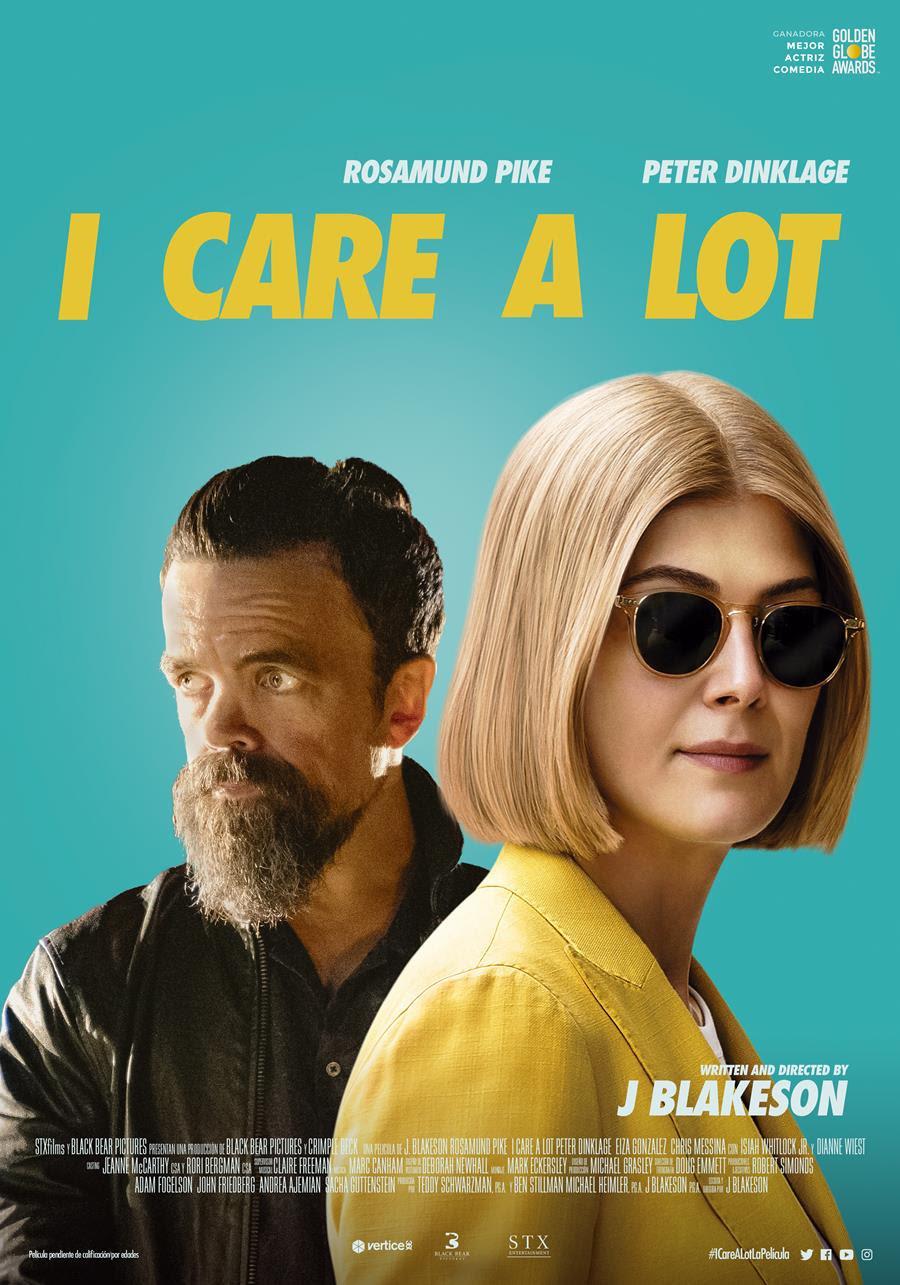 Cartel de I Care a Lot