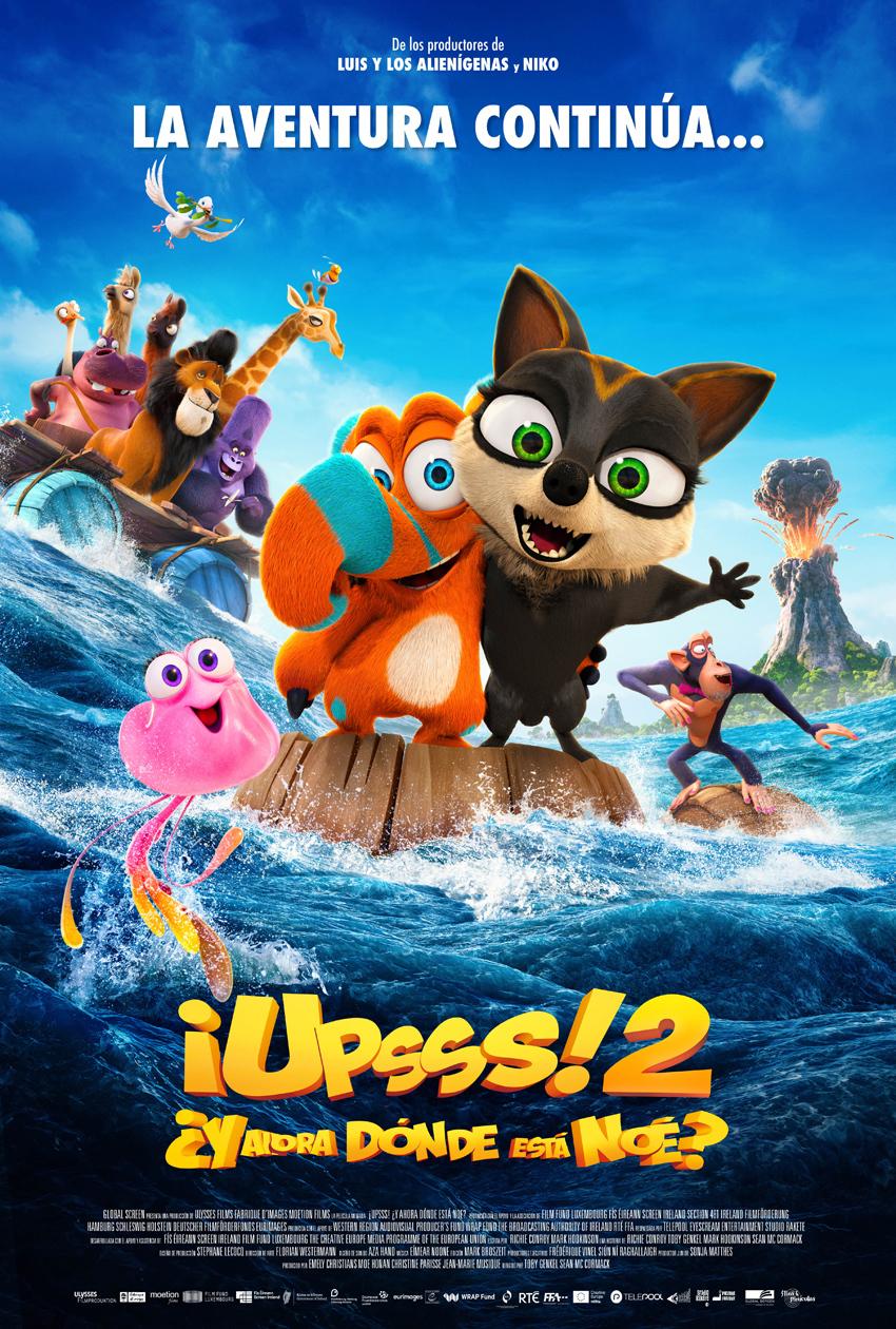 Cartel de ¡Upsss 2! ¿Y ahora dónde está Noé?