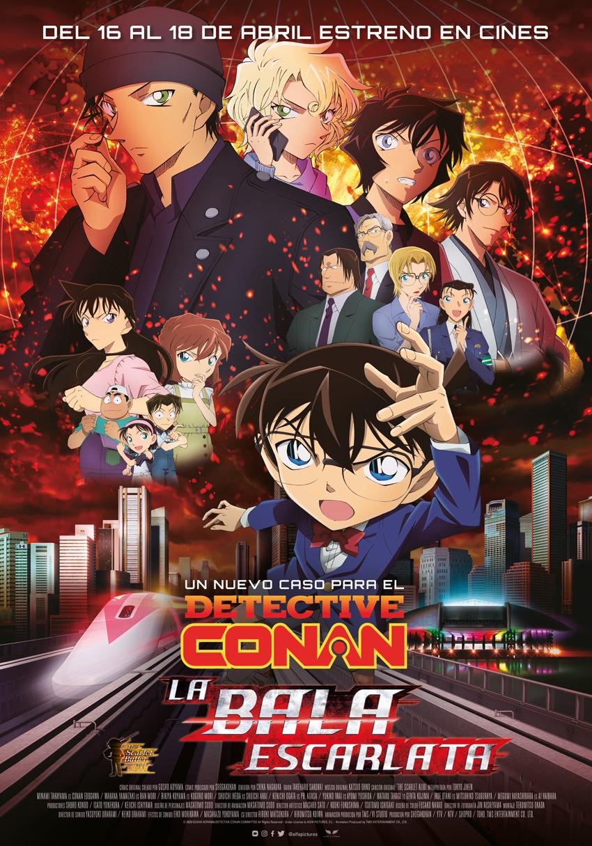 Cartel de Detective Conan: La bala escarlata