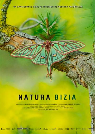 Cartel de Natura Bizia