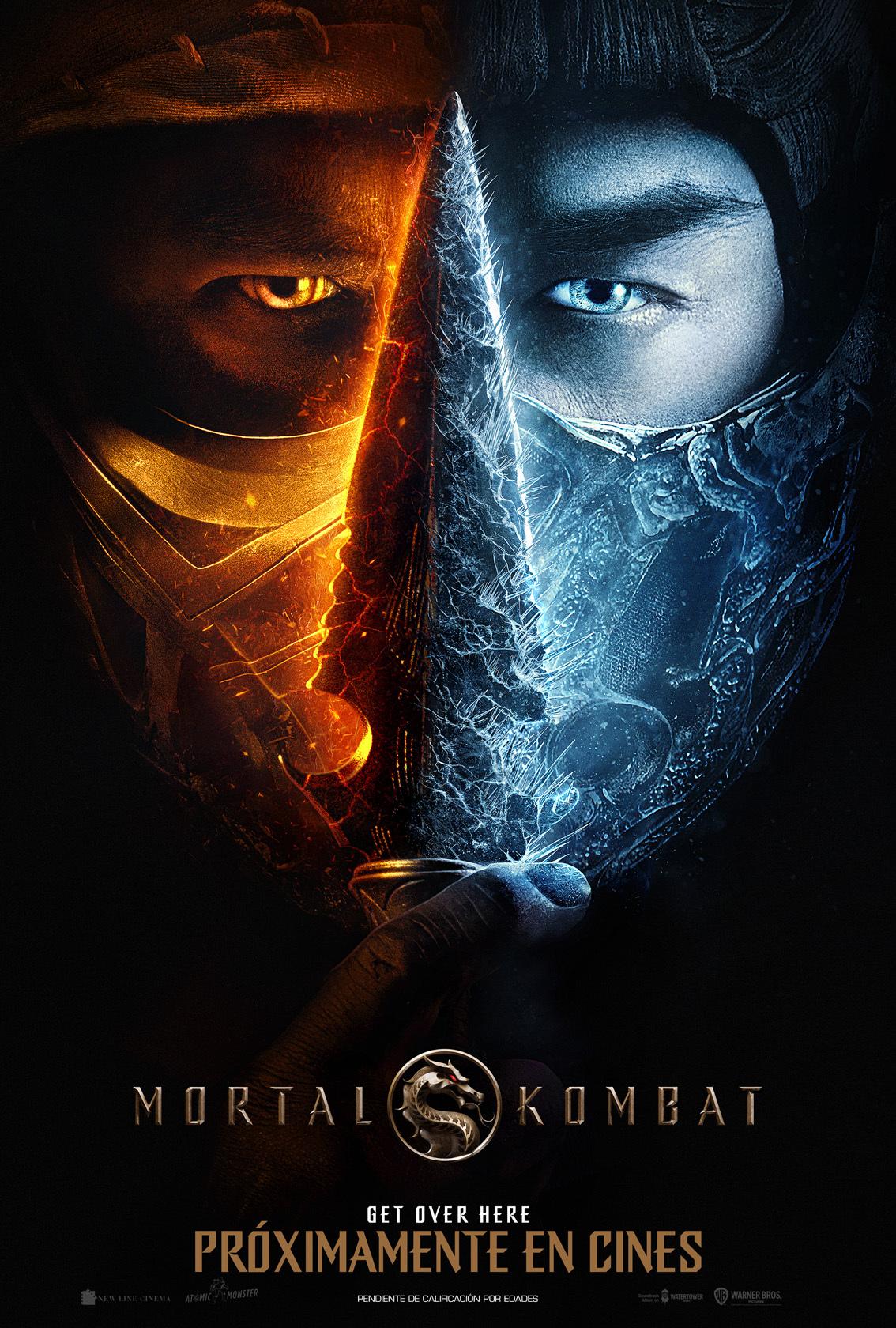 Cartel de Mortal Kombat