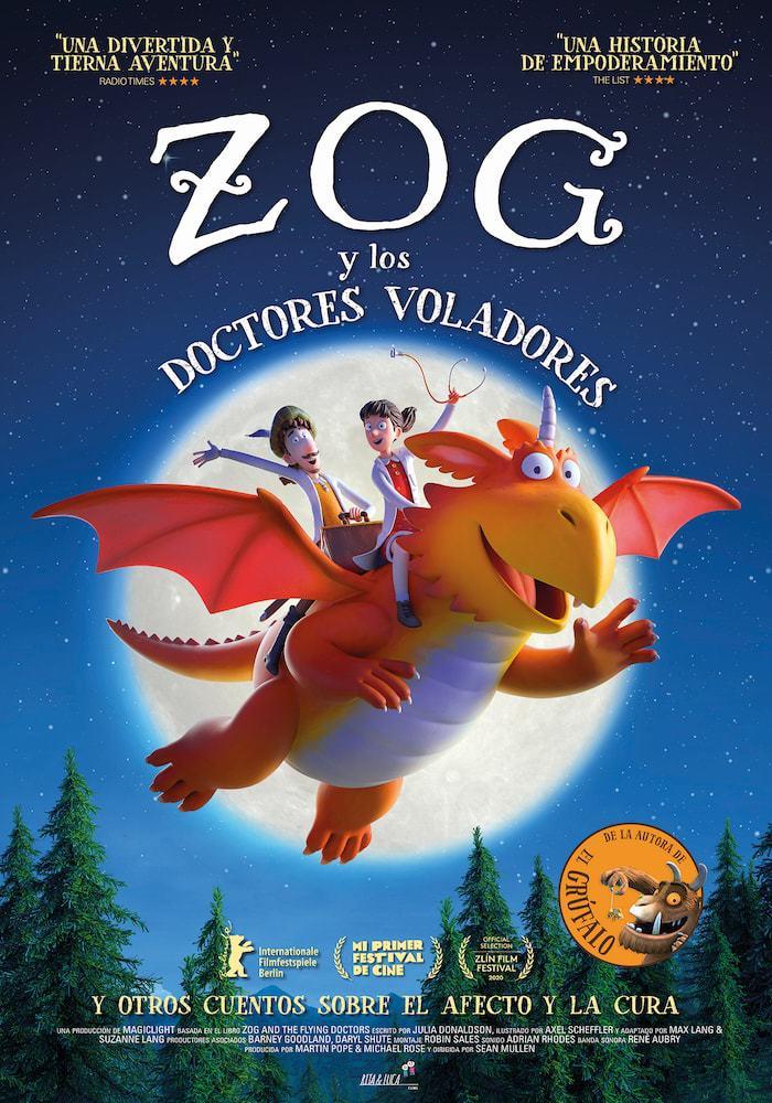 Cartel de Zog y los doctores voladores, y otros cuentos sobre el afecto y la cura