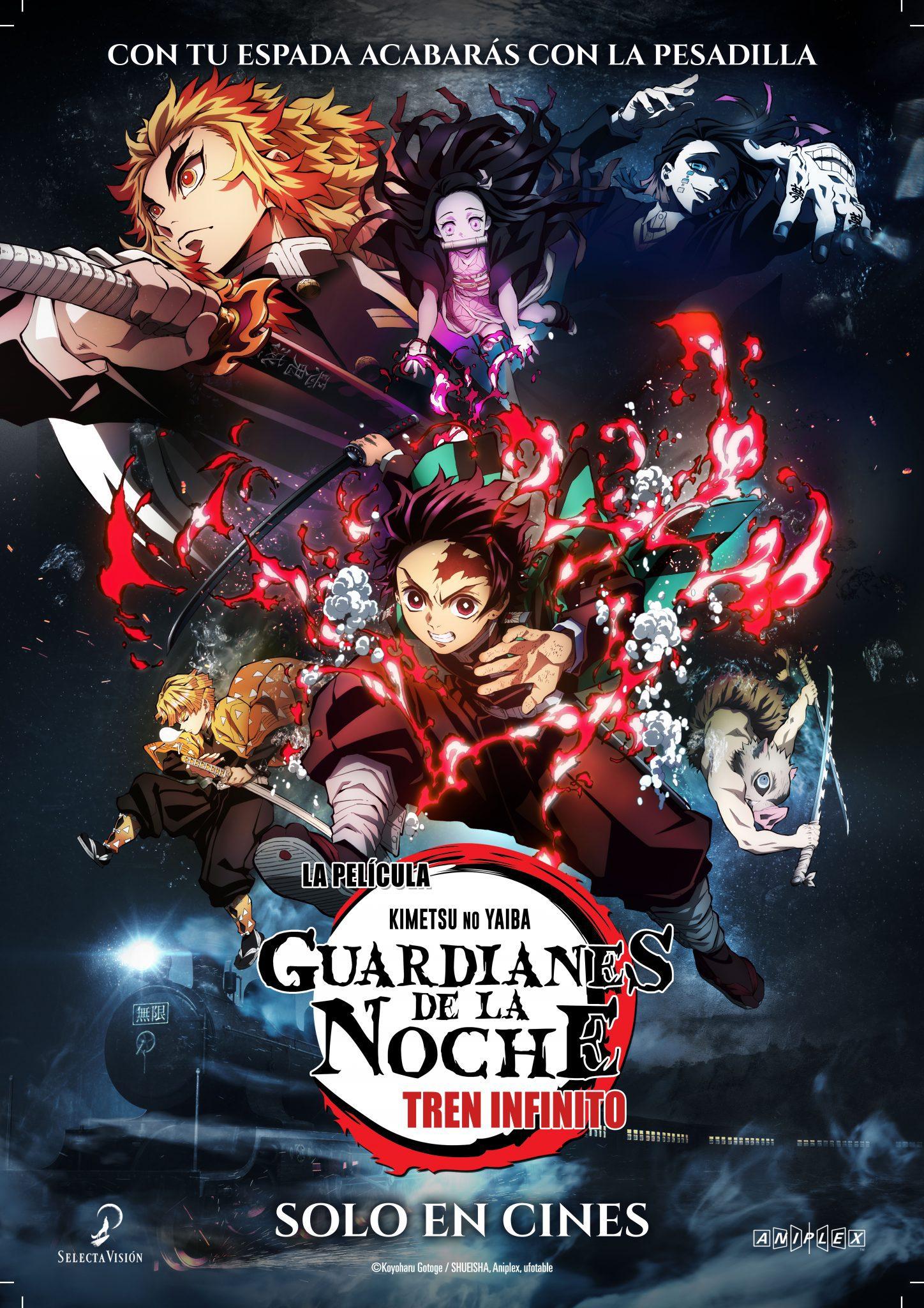 Cartel de Guardianes de la Noche: Tren infinito