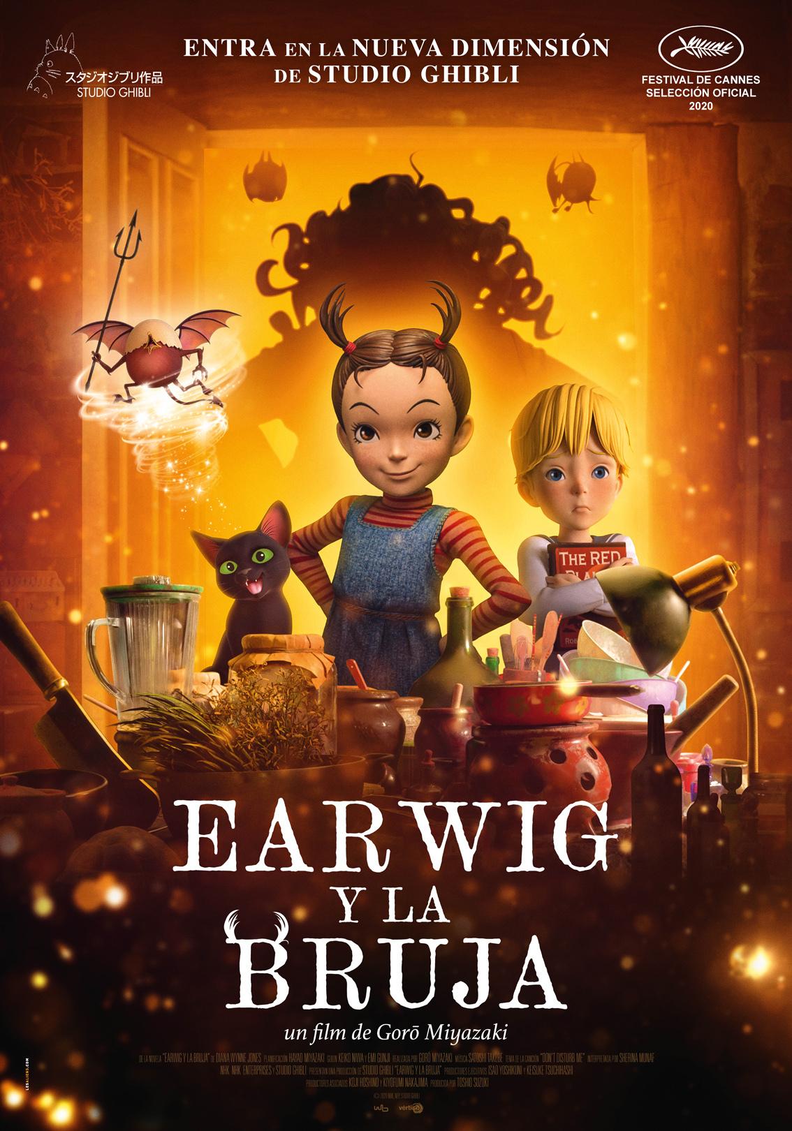 Cartel de Earwig y la Bruja