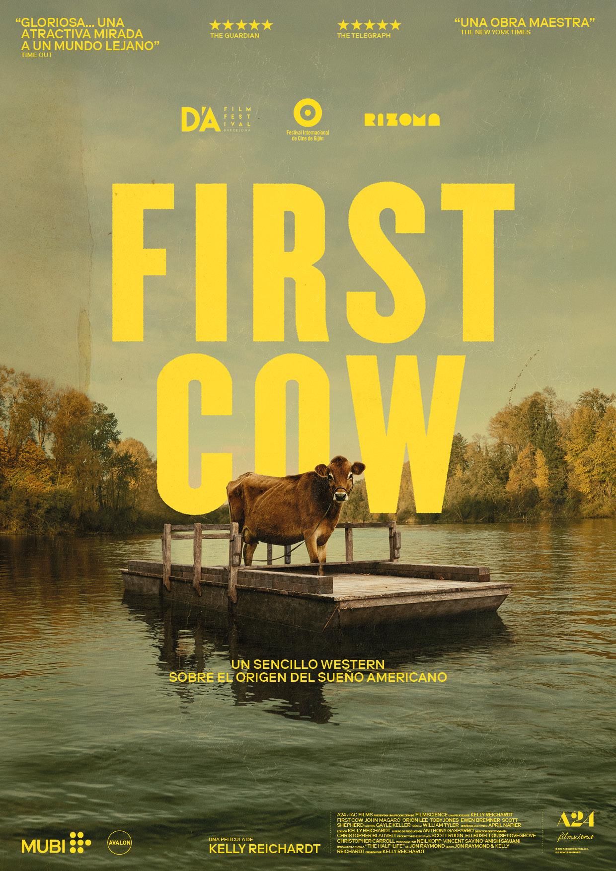 Cartel de First Cow